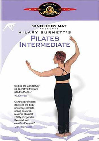 Hilary Burnett's Pilates Intermediate DVD Movie