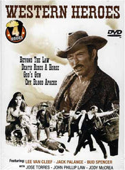 Western Heroes -Beyond The Law/Cry Blood/ Death Rides/God's Gun(Boxset)
