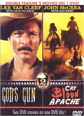 Gods Gun/Cry Blood Apache DVD Movie