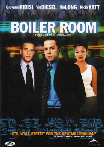 Boiler Room (Bilingual) DVD Movie