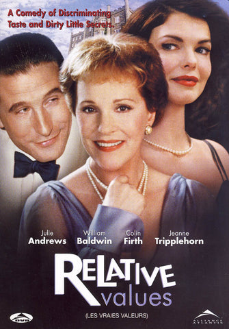 Relative Values (Bilingual) DVD Movie