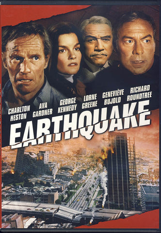 Earthquake DVD Movie