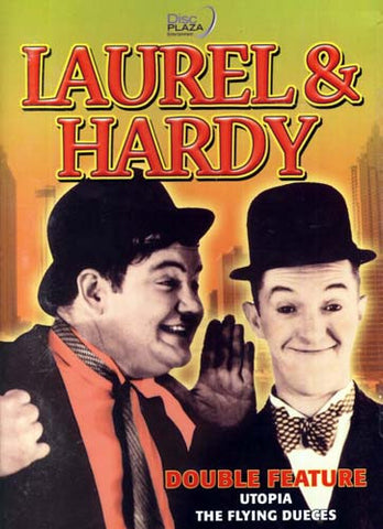 Laurel and Hardy - Double Feature - Utopia/The Flying Dueces DVD Movie