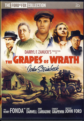 The Grapes of Wrath DVD Movie