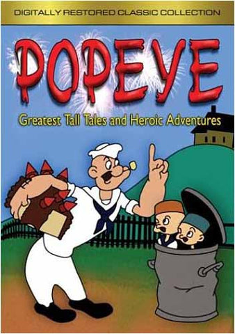 Popeye - Greatest Tall Tales And Heroic Adventures (Digitally Restored Classic Collection) DVD Movie