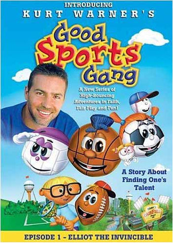 Kurt Warner's - Good Sports Gang, Episode 1: Elliot the Invincible DVD Movie