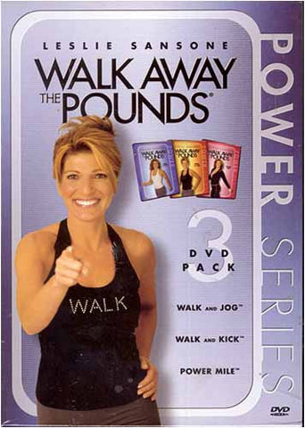 Leslie Sansone - Walk Away the Pounds - Power Series - 3-DVD Pack (Boxset) DVD Movie