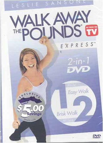 Leslie Sansone - Walk Away the Pounds Express - 1 Mile Easy Walk / 2 Miles Brisk Walk DVD Movie