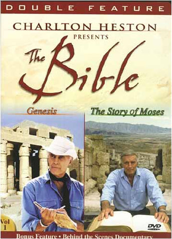 Charlton Heston Presents The Bible - Genesis / The Story of Moses (Double Feature) DVD Movie