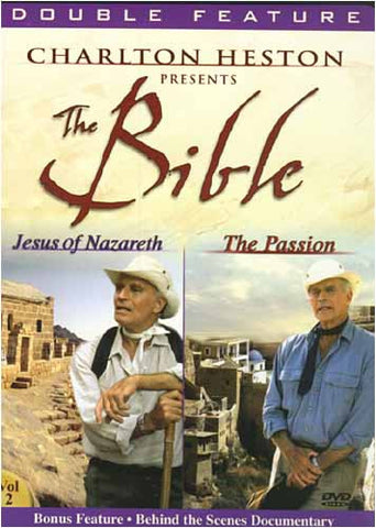 Charlton Heston Presents The Bible - Jesus of Nazareth / The Passion (Double Feature) DVD Movie