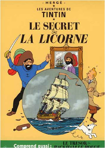 Les Aventures De Tintin: Le Secret De La Licorne / Le Tresor De Rackham Le Rouge - Full Screen DVD Movie