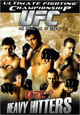 UFC 53 - Heavy Hitters DVD Movie
