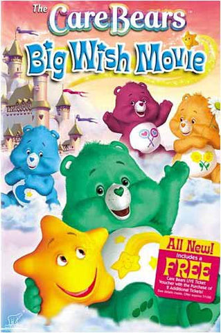 The Care Bears - Big Wish Movie DVD Movie