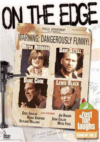 Just for Laughs - Stand Up, Vol. 2 - On the Edge DVD Movie