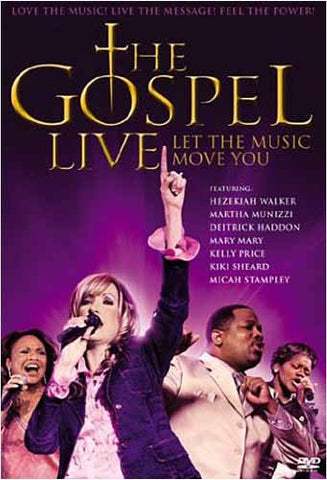 The Gospel Live - Let The Music Move You DVD Movie