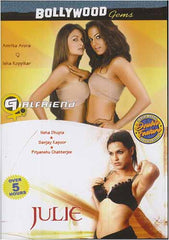 Julie / Girl friend (Original Hindi Versions With English Subtitle) - Region Free dvd