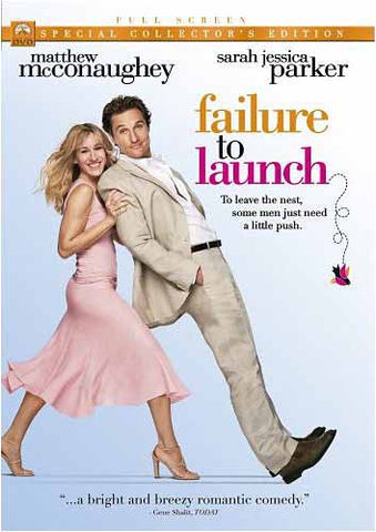 Failure to Launch - Special Collector s Edition (Full Screen) (Bilingual) DVD Movie