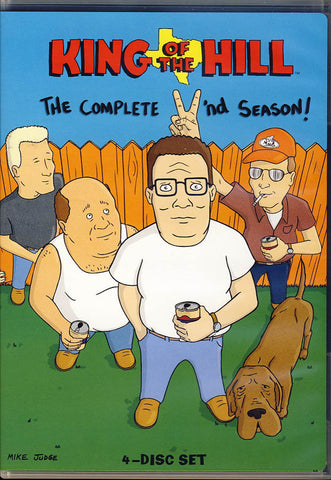King of the Hill - The Complete Second Season DVD Movie