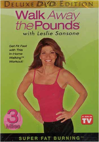 Leslie Sansone - Walk Away the Pounds - Super Fat Burning - 3Miles(Deluxe Edition) DVD Movie