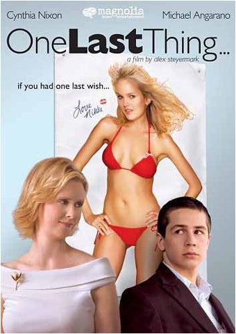 One Last Thing... (Widescreen) DVD Movie
