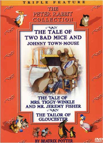 The Tale of Two Bad Mice and Johnny Town-Mouse / Mrs Tiggy-Winkle and Mr Jeremy Fisher DVD Movie