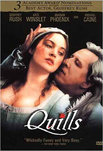 Quills DVD Movie