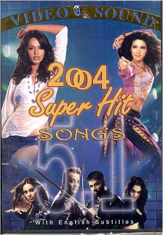 2004 Super Hit 5.1 Songs (Original Hindi Songs with English subtitle) DVD Movie