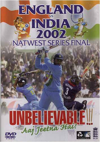 England Vs India 2002 - Natwest Series Final DVD Movie