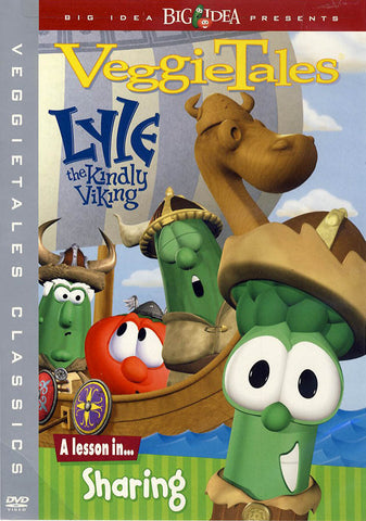 VeggieTales - Lyle the Kindly Viking (Grey border) DVD Movie