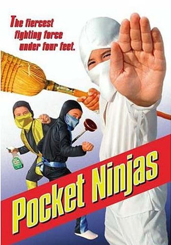 Pocket Ninjas DVD Movie