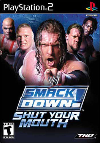 WWE Smackdown! - Shut Your Mouth (PLAYSTATION2) PLAYSTATION2 Game