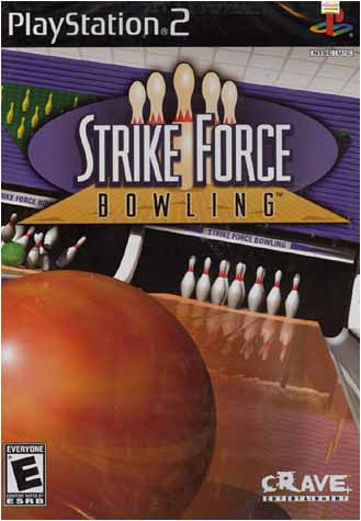 Strike Force Bowling (Limit 1 copy per client) (PLAYSTATION2) PLAYSTATION2 Game