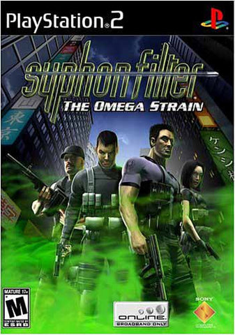 Syphon Filter - The Omega Strain (Limit 1 copy per client) (PLAYSTATION2) PLAYSTATION2 Game