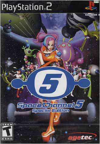Space Channel 5 - Special Edition (PLAYSTATION2) PLAYSTATION2 Game
