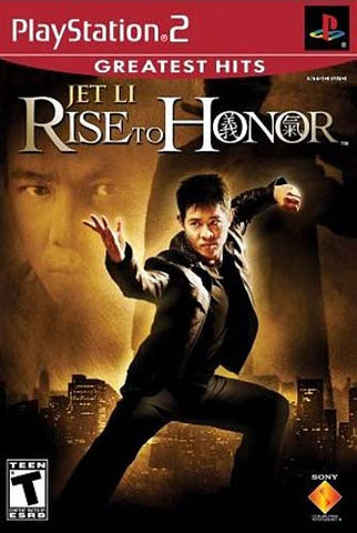 Rise to Honor - Jet Li (Limit 1 copy per client) (PLAYSTATION2) PLAYSTATION2 Game