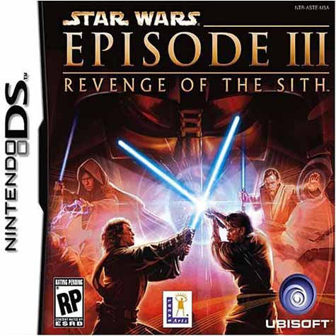 Star Wars Episode III - Revenge of the Sith (DS) DS Game