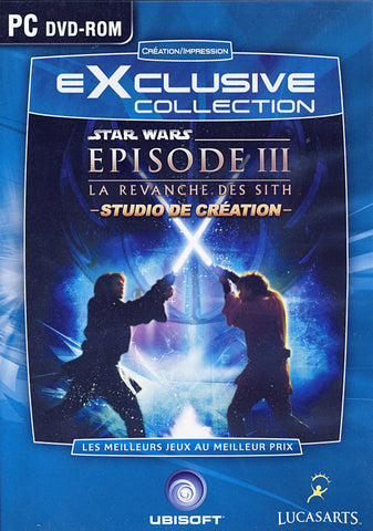 Star Wars Episode 3 - La Revanche Des Sith - Studio De Creation (French Version Only) (PC) PC Game