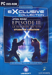 Star Wars Episode 3 - La Revanche Des Sith - Studio De Creation (French Version Only) (PC)