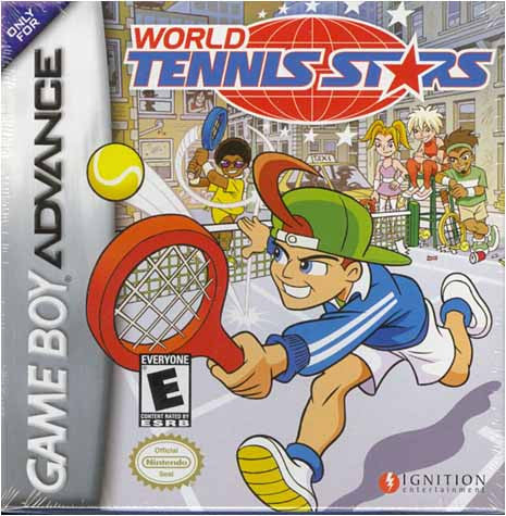 World Tennis Stars (GAMEBOY ADVANCE) GAMEBOY ADVANCE Game