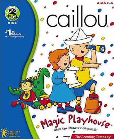 Caillou - Magic Playhouse (PC) PC Game