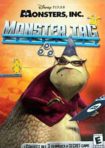 Monsters Inc - Monster's Tag (Jewel Case) (PC) PC Game