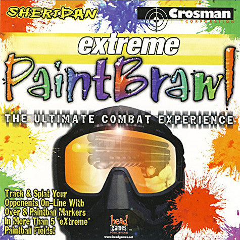 Extreme Paint Brawl (Jewel Case) (PC) PC Game