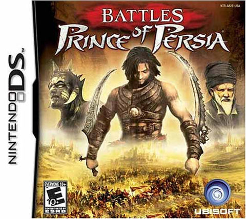 Battles - Prince of Persia (DS) DS Game