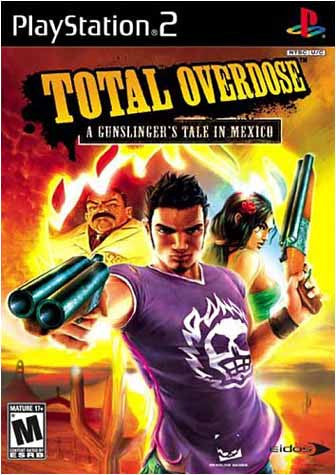 Total Overdose - A Gunslinger's Tale In Mexico (PLAYSTATION2) PLAYSTATION2 Game