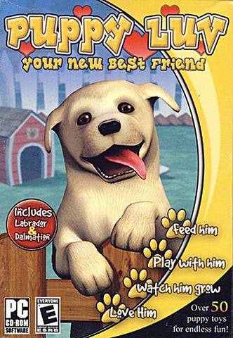 Puppy Luv - Your New Best Friend (PC) PC Game