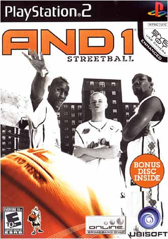 AND 1 Streetball (Limit 1 copy per client) (PLAYSTATION2) PLAYSTATION2 Game