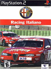 Alfa Romeo Racing (Racing Italiano) (PLAYSTATION2)