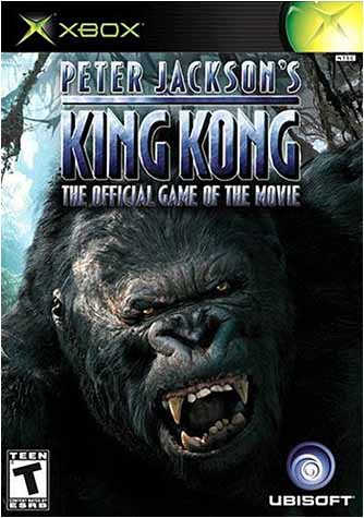 Peter Jackson s King Kong - The Offical Movie Game (XBOX) XBOX Game
