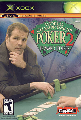 World Championship Poker 2 - With Howard Lederer (XBOX) XBOX Game