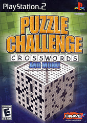 Puzzle Challenge Crosswords & More (PLAYSTATION2)